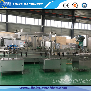 1500BPH Automatic Water Bottling Plant (0.1-2L)